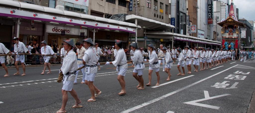 Gion Matsuri, l'un des festivals les plus historiques de Kyôto