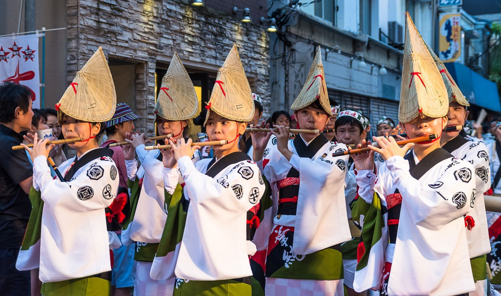 Koenji Awa Odori, l'un des plus grands festivals de danse du Japon