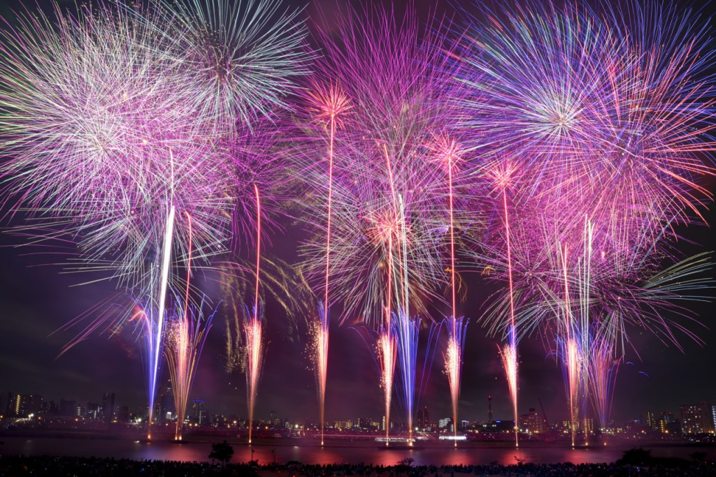 sumida-feux-d'artifice-au-Japon