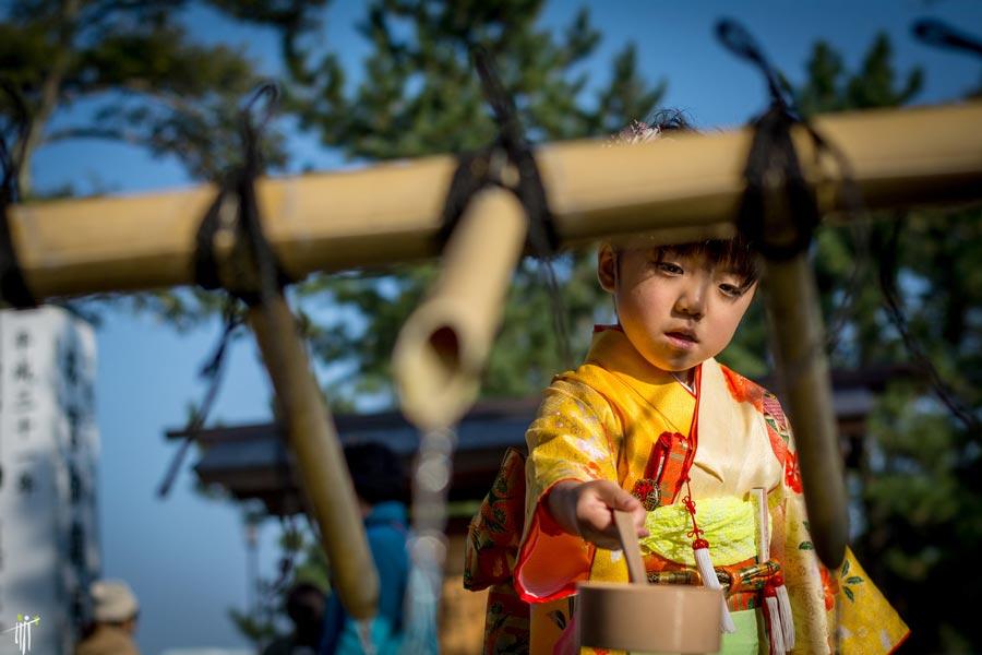 Shichi-go-san, l'heure de fêter les enfants