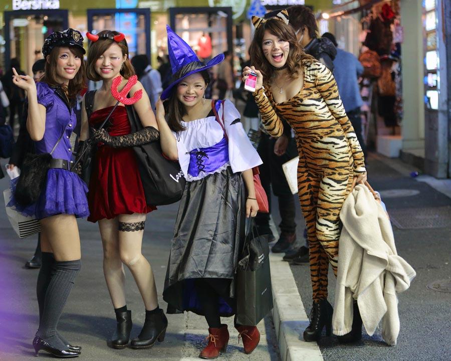 5 choses à faire pour Halloween à Tokyo