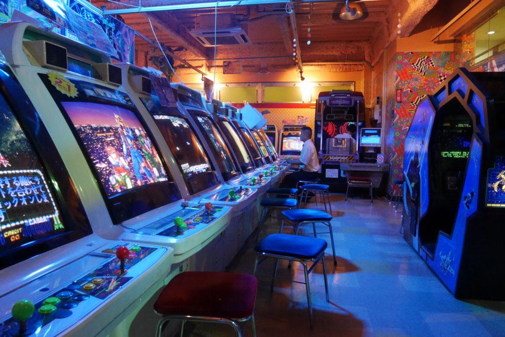 Mikado, la meilleure salle d'arcade retro de Tokyo