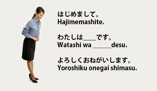 Le jikoshoukai (自己紹介), se présenter en japonais.