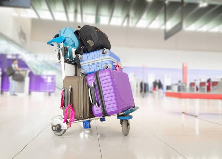 La douane à l'aéroport au Japon